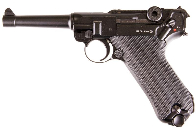 Pistola Luger de CO2 para Airsoft