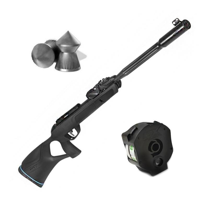 cargador de diábolos para escopeta multidisparo gamo