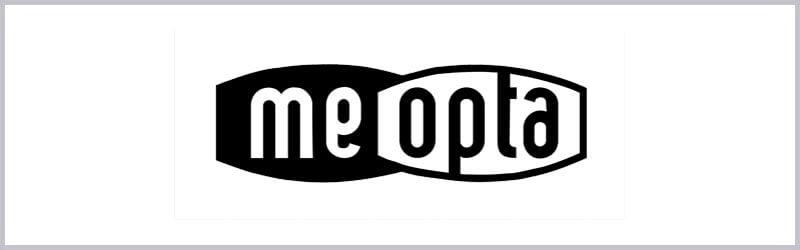 Logo de mira telescopica meopta