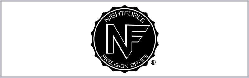 Logo de mira telescopica nightforce