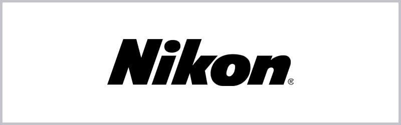 Logo de mira telescopica nikon