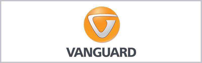Logo de mira telescopica vanguard