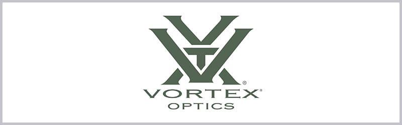 Logo de mira telescopica vortex