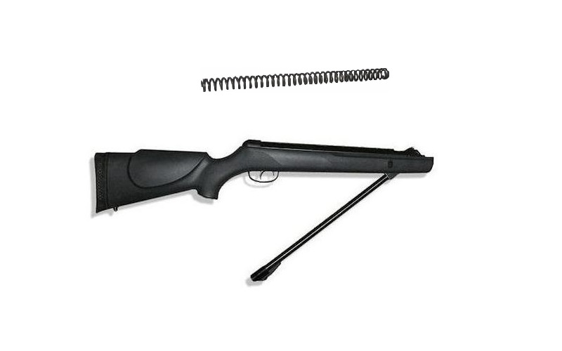 plataforma de rifle de aire comprimido a resorte o resortero