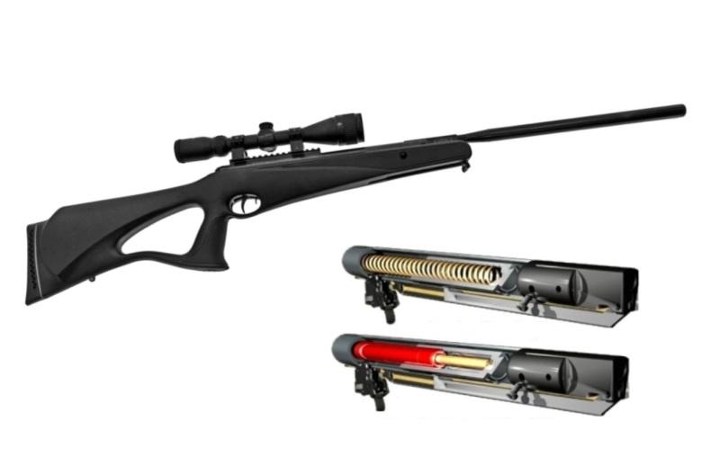 plataforma de rifle de nitro piston