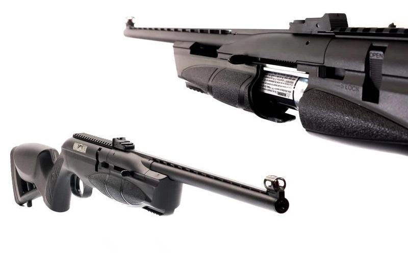 plataformas de rifles de co2 o gas carbonico