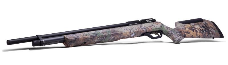 rifle de aire comprimido camuflado