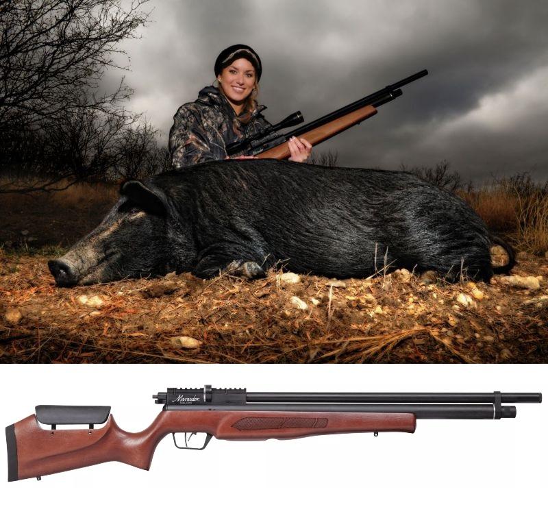 carabina pcp para caza mayor