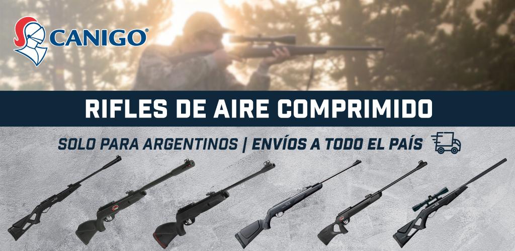 rifles de aire comprimido para argentinos en CANIGO